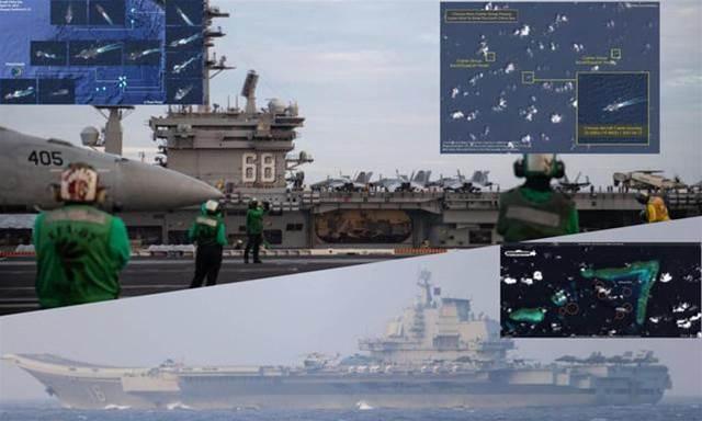"""美軍艦為何頻闖南海""""作妖""""?港媒:這是給解放軍練兵的好機會"""