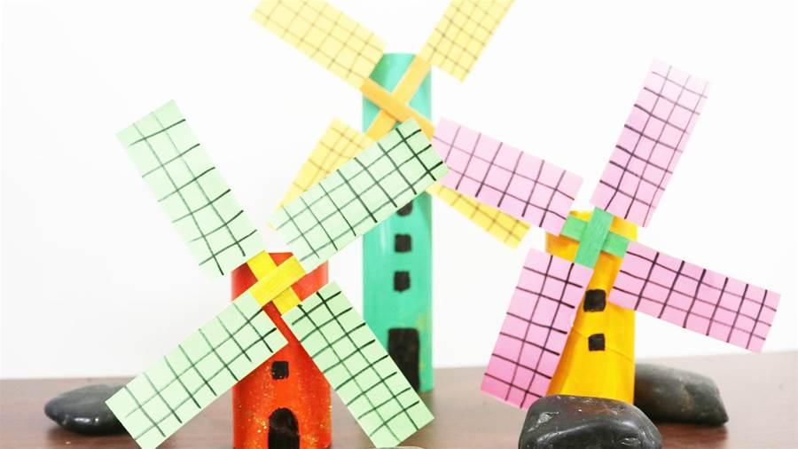 創意美勞 荷蘭風車