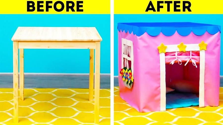 家裡的紙箱子不要扔,給小朋友做遊戲屋,多個幼兒創意手工DIY