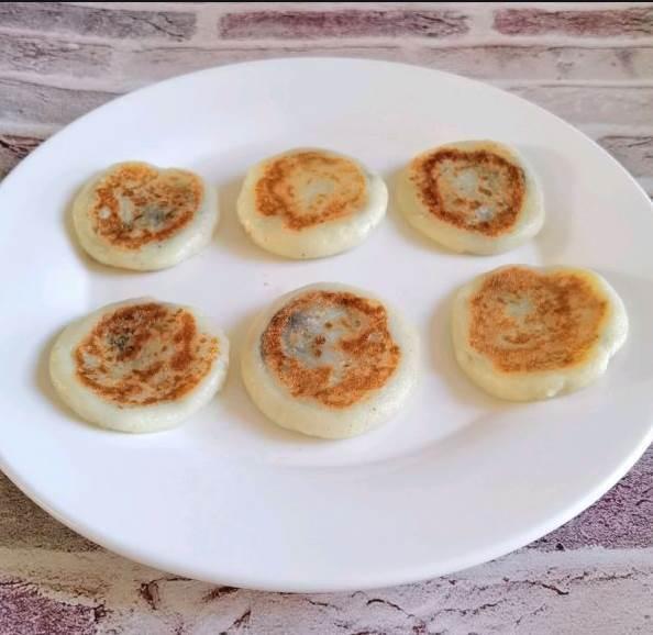 在家就可以做的雞蛋糯米餅—外脆裡軟的糯米早餐餅