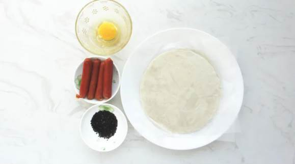 巧用手抓餅做外酥裡彈的一口酥小吃|當早餐下午茶皆宜