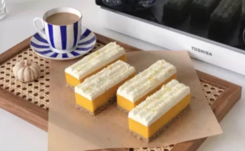 讓人眼前一亮的南瓜奶條,早餐下午茶都超級棒