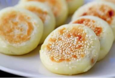 一拌一包一煎搞定香甜軟糯營養早餐餅|免揉面