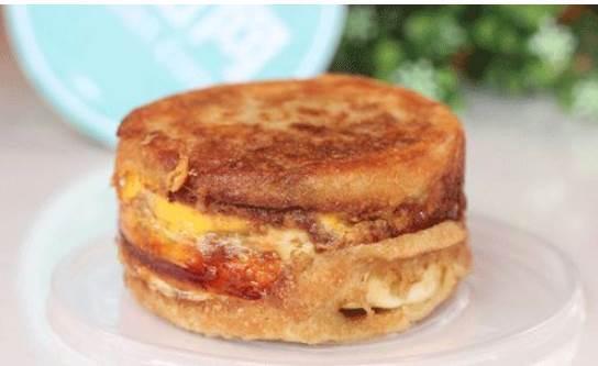 學做比漢堡包更美味的雞蛋漢堡|太香了