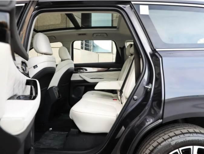 1米8大個輕鬆坐進第三排,20萬最大塊頭國產SUV都在這了,開出去真有面!