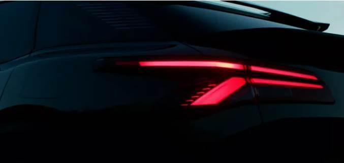 夢幻前臉,貫穿尾燈,跨界風格,將於4月12日首發