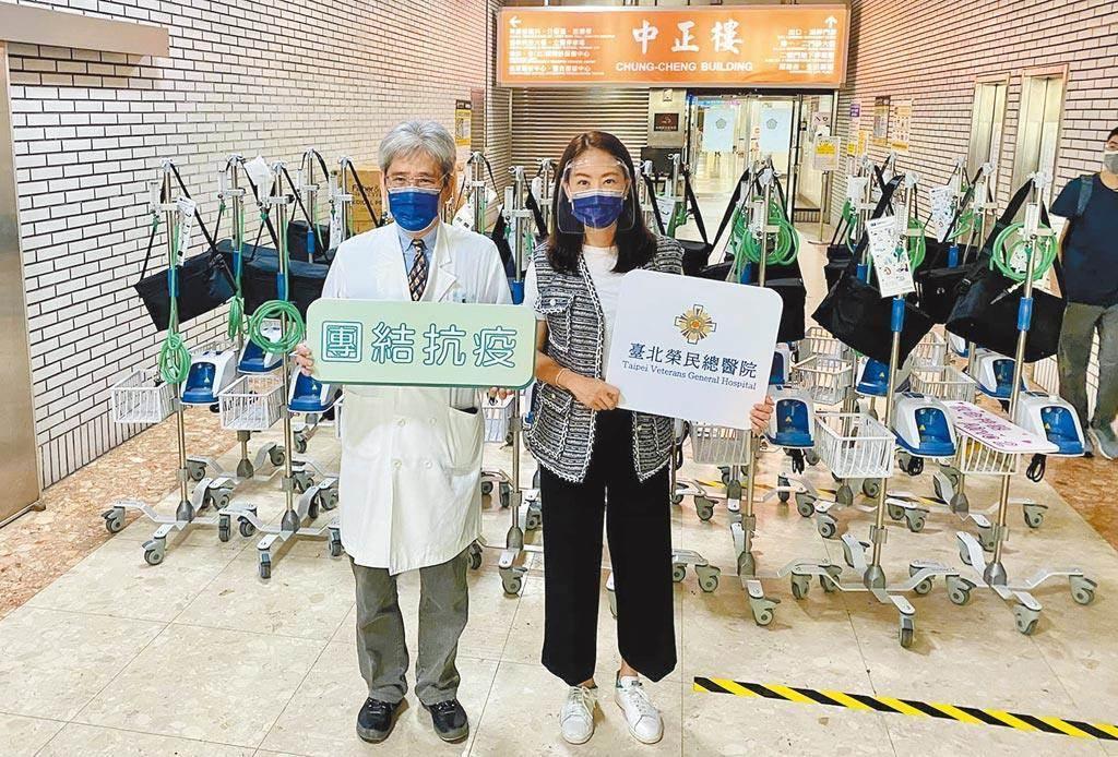 藝人賈永婕向企業界求助,募得HFNC火速送前線醫護使用。(摘自賈永婕的跑跳人生臉書粉絲專頁)
